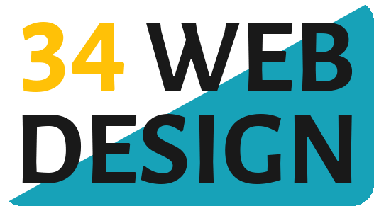 34 Web Design logo